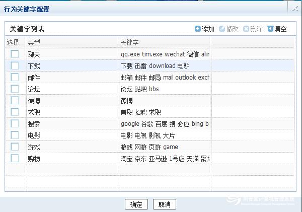 网管家电脑监管软件的详细功能列表